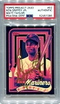 Ken Griffey Jr. Autographed Topps Project 2020 Card #53 Inscribed 24 - Gold 1/1
