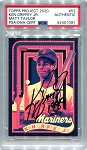 Ken Griffey Jr. Autographed Topps Project 2020 Card #53 Inscribed 1989 - Black 1/1