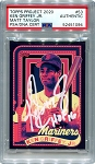 Ken Griffey Jr. Autographed Topps Project 2020 Card #53 Inscribed HOF 16 - White 1/1