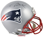 Tom Brady Autographed New England Patriots Authentic Full Size Helmet