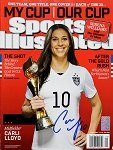 Carli Lloyd Autographed USA Soccer July 2015 Sports Illustrated