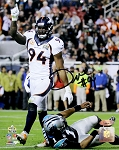 DeMarcus Ware Autographed Broncos Super Bowl 50 8x10 Photo