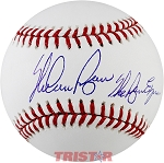 Nolan Ryan Autographed Major League Baseball Inscribed The Ryan Express