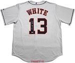 Tyler White Autographed Houston Astros Jersey Inscribed Great White