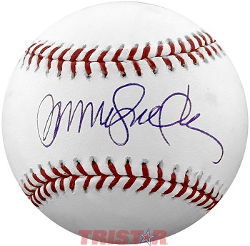 Ryne Sandberg Autographed Major League Baseball