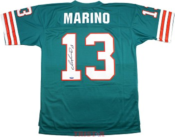 Dan Marino Autographed Miami Dolphins 1984 Throwback Replica Jersey