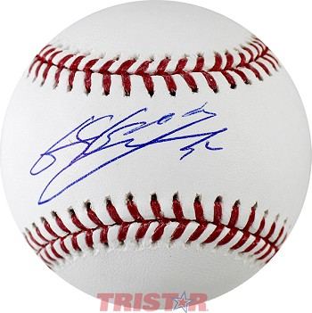 Byung Ho Park Autographed Major League Baseball