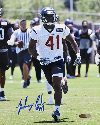 Zach Cunningham Autographed Houston Texans 8x10 Photo