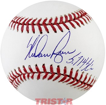 Nolan Ryan Autographed Major League Baseball Inscribed 5714 K's