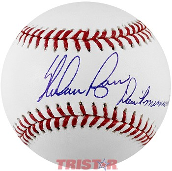 Nolan Ryan Autographed Major League Baseball Inscribed Don't Mess With Texas