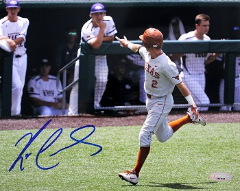 Kody Clemens Autographed Univeristy of Texas Longhorns 8x10 Photo