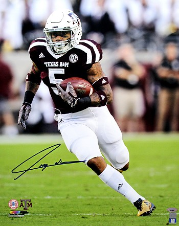 Trayveon Williams Autographed Texas A&M Aggies 16x20 Photo