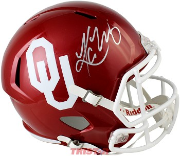 Kyler Murray Autographed Oklahoma Sooners Full-Size Speed Helmet