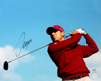 Sergio Garcia Autographed 16x20 Photo Limited Edition of 100