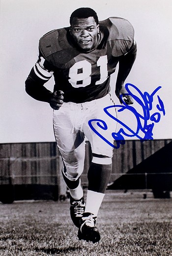Carl Eller Autographed Minnesota Vikings 4x6 Photo