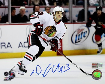 Daniel Carcillo Autographed Chicago Blackhawks 8x10 Photo