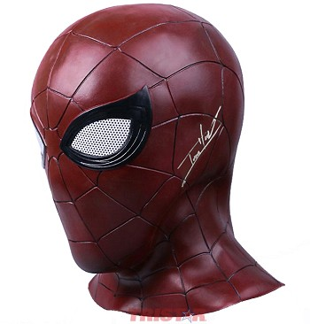 Tom Holland Autographed Spider-Man Cosplay Full Mask