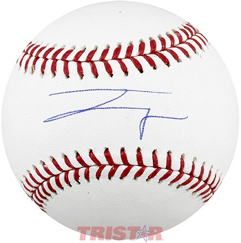 Josh Wolf Autographed Official Baseball