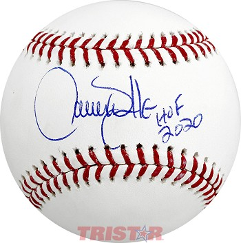 Larry Walker Autographed Official ML Baseball Inscribed HOF 20
