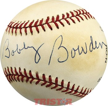 Coach Bobby Bowden Autographed Official NL Baseball