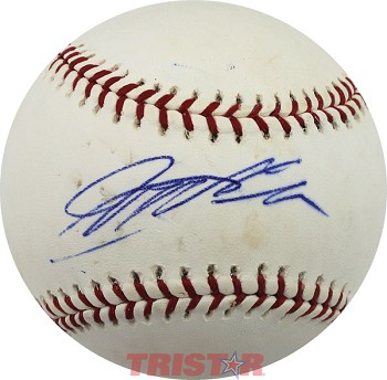 Jeff Gordon Autographed Major League Baseball