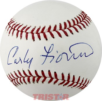 Carly Fiorina Autographed Official Major League Baseball