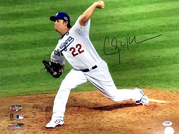 Clayton Kershaw Autographed Los Angeles Dodgers 16x20 Photo