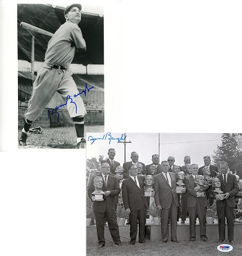 Sammy Baugh Autographed 8x10 Photos Combo