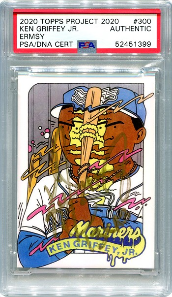 Ken Griffey Jr. Autographed Topps Project 2020 Card #300 Inscribed 13x AS - Gold 1/1