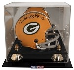 Mini Helmet Display Case with Mirrored Back