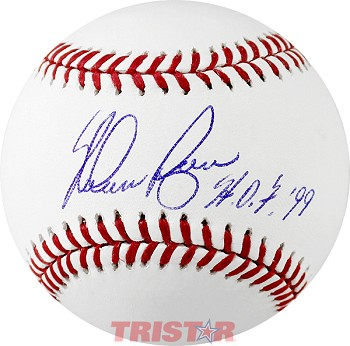 Nolan Ryan Autographed Major League Baseball Inscribed HOF 99