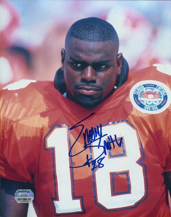Emory Smith Autographed Clemson Tigers 8x10 Photo