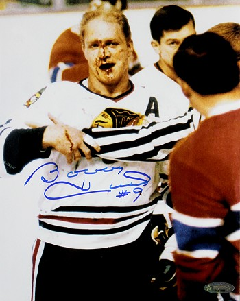 Bobby Hull Autographed Chicago Blackhawks 8x10 Photo