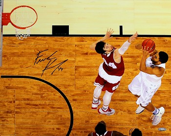 Frank Kaminsky Autographed Wisconsin 2015 Final Four vs Towns 16x20 Photo
