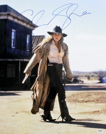 Sharon Stone Autographed The Quick & The Dead 16x20 Photo