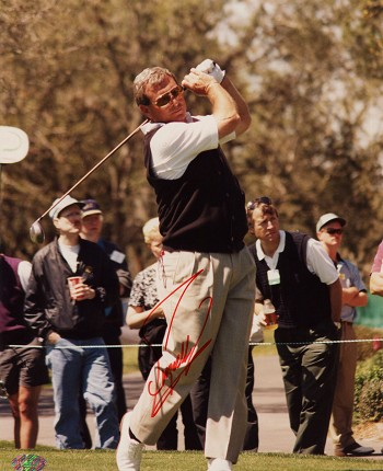 Fuzzy Zoeller Autographed 8x10 Photo