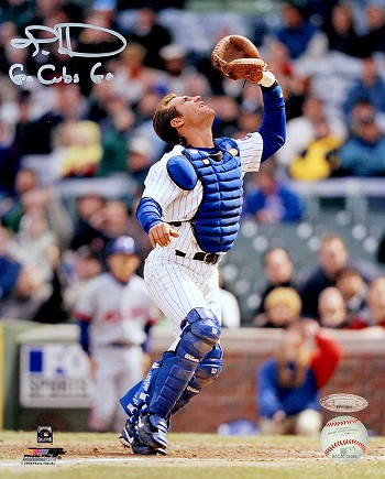 Todd Hundley Autographed Chicago Cubs 8x10 Photo