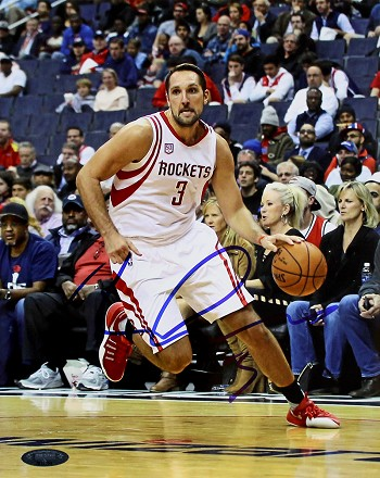 Ryan Anderson Autographed Houston Rockets 8x10 Photo