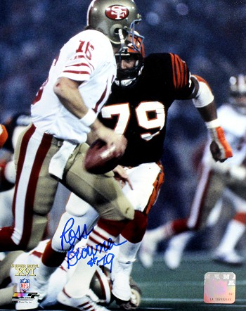 Ross Browner Autographed Cincinnati Bengals 8x10 Photo