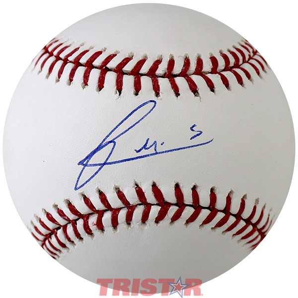Francis Martes Autographed Official ML Baseball